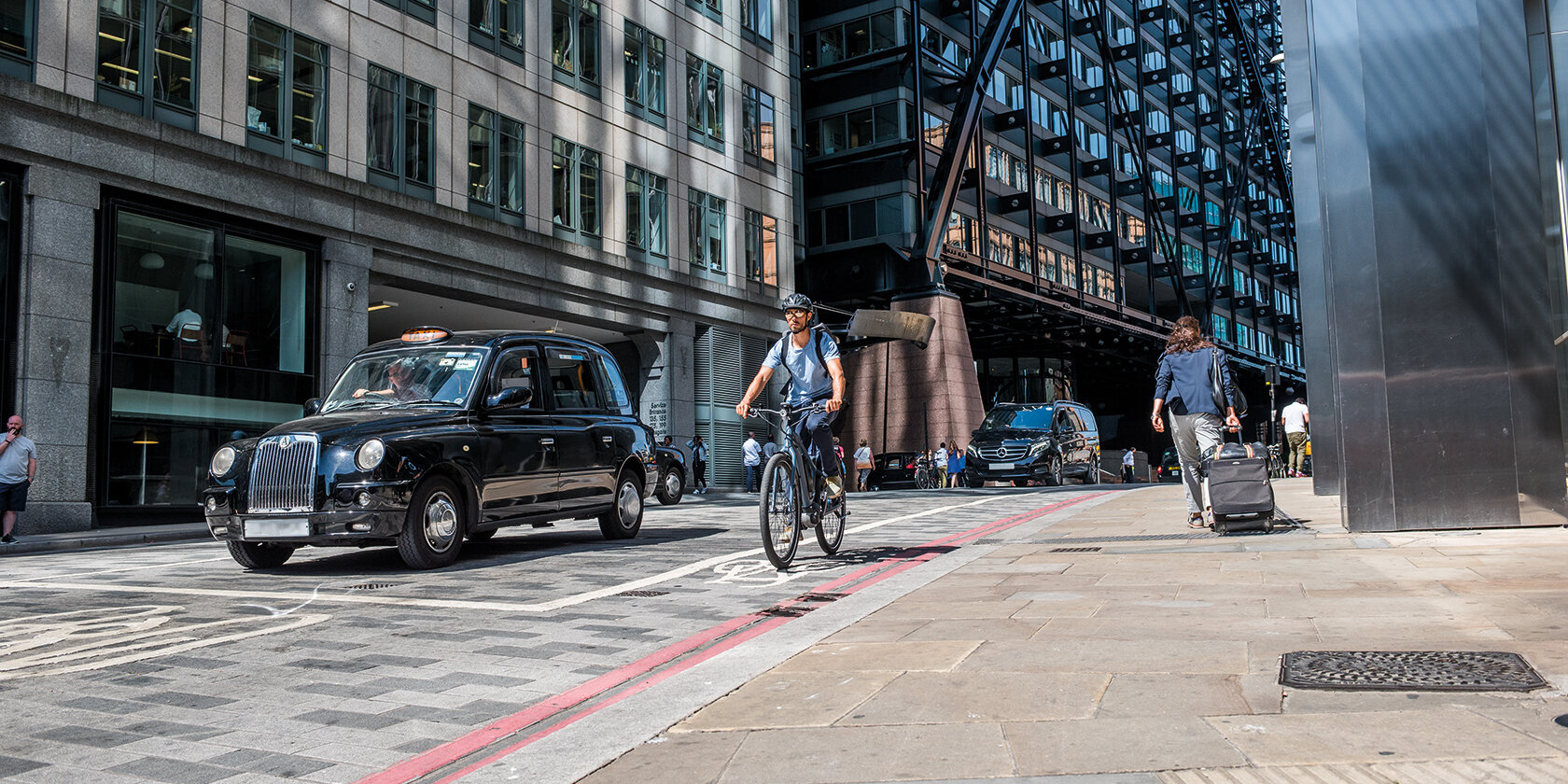 Exploring urban London on a Bosch eBike