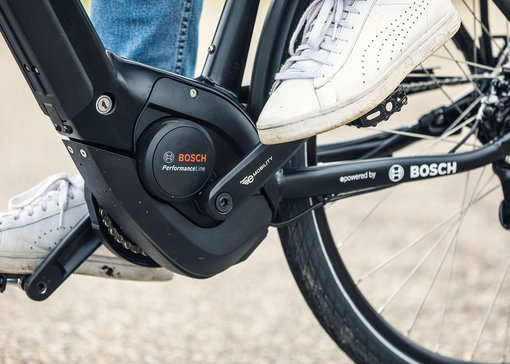 The Bosch eBike drive