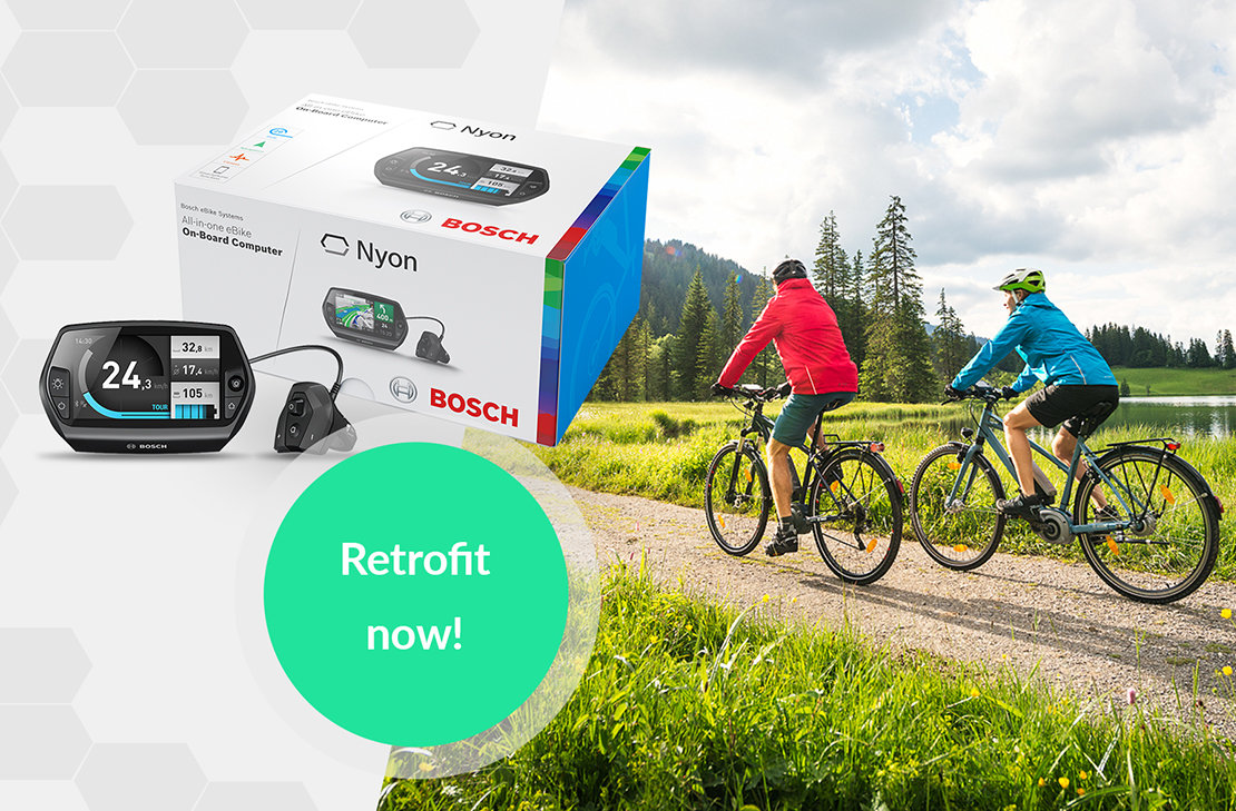 Bosch Ebike Connect The Nyon Portal For Navigation And Fitness Above Is Circuit Board Which Attaches To Your Spokes Below A