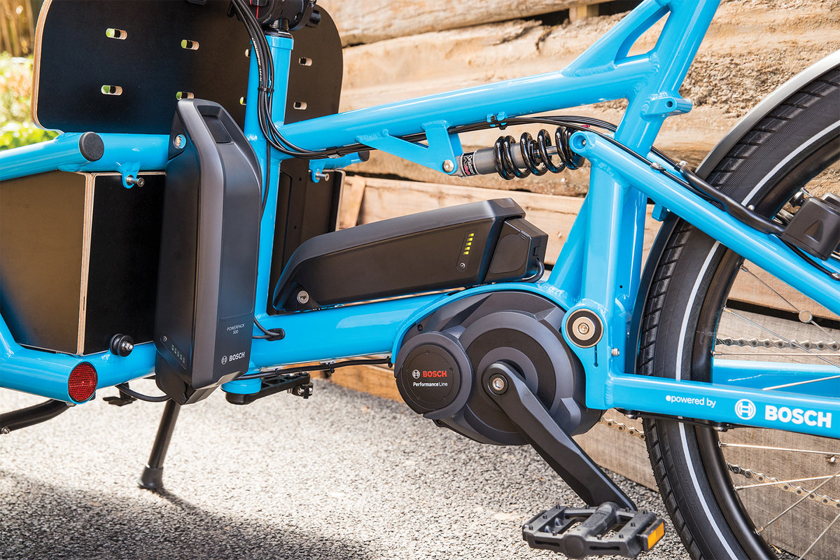 The Powerpack Is Often Installed Using Rack Option For Bikes With An Upright Seating Position To Offer Complete Freedom When Mounting Or Dismounting